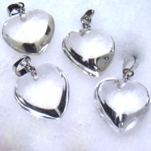 『晶鑽水晶』天然白水晶墜子~淨度高21-24