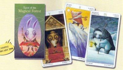【牌的世界】魔法森林塔羅牌(附中文說明 )Tarot of the Magical Forest