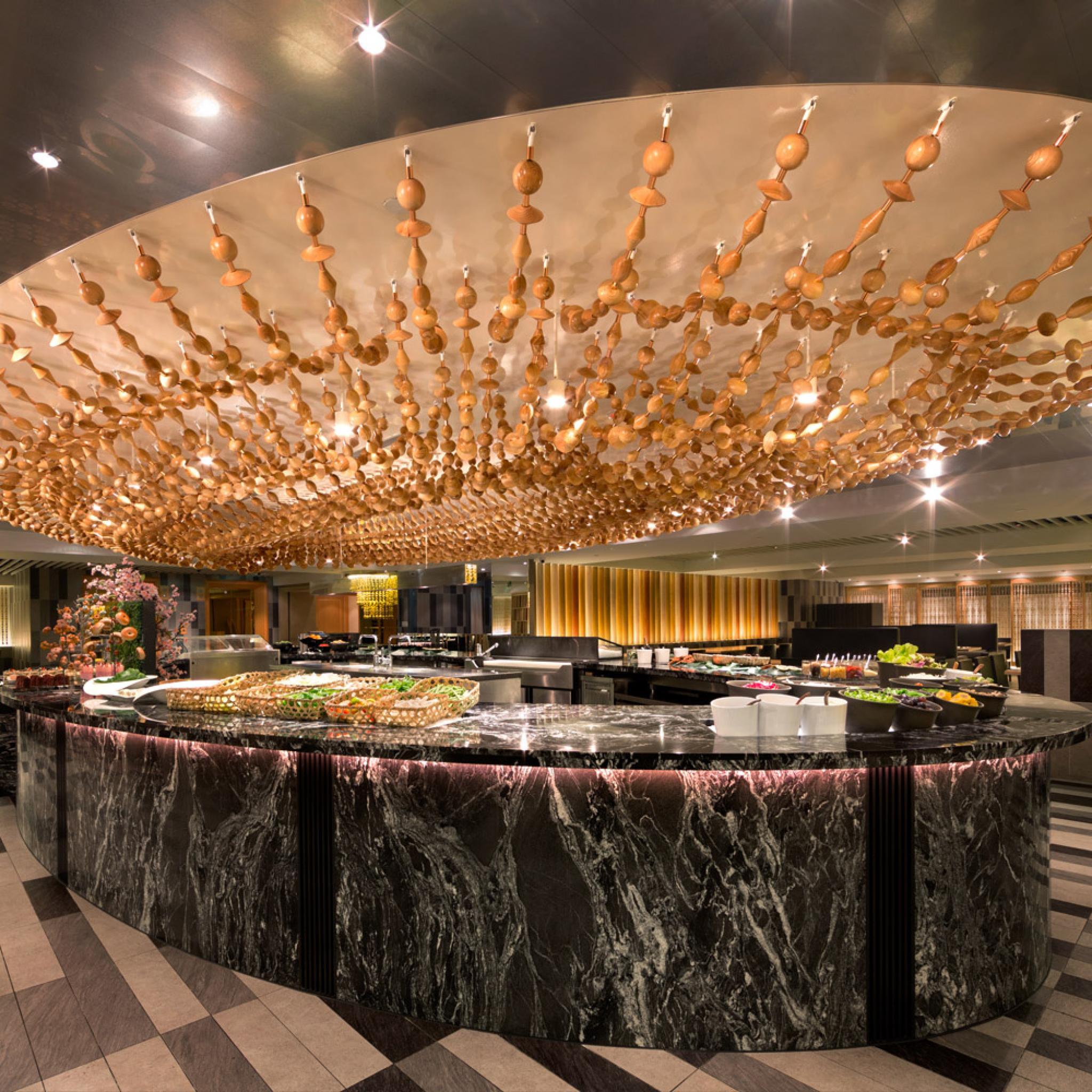 【電子票券】台北西華飯店B-one餐廳2人自助式吃到飽早餐券(假日不加價)
