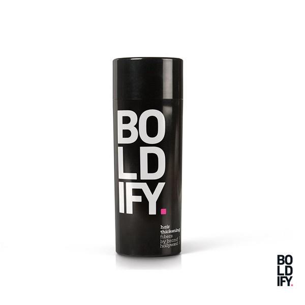 美國新銳造型廠牌Boldify專門運用最新科技協助打造立體髮量受到好評,日前發售系列商品,發表Hair Building Fibers豐髮纖維灑劑每瓶蘊含高劑量細微纖維,採用100%天然角蛋白原料製作
