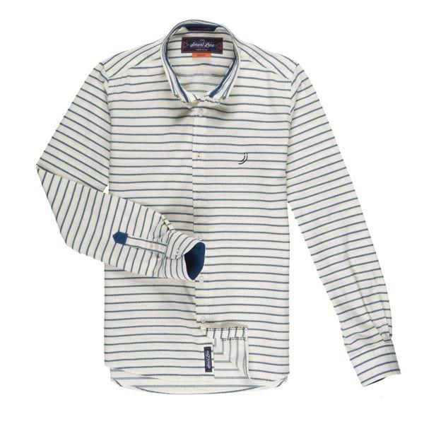 J&Joy 條紋必備款襯衫 J171-M13-01-28