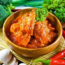 快樂大廚 韓式歐巴辣炒雞腿料理24包(300g/包)