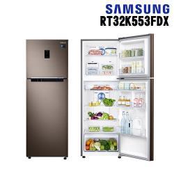 原廠回函登錄抽+加碼送★ SAMSUNG三星 323L雙循環雙門冰箱 RT32K553FDX