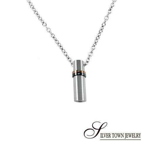 SilverTown銀鎮 大個性鋼墜子(不含鍊) (316L不銹鋼飾品)