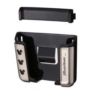 日本NAPOLEX 米奇頭型圖案高質感黏貼式智慧型手機架 WD-360