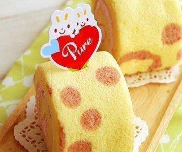 (甜心手作坊)可愛Pure小兔蛋糕裝飾插卡 蛋糕插牌50個