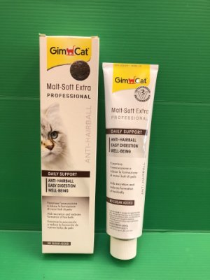 ✪CHOCO寵物廣場n✪(附發票)德國 GIMPET 竣寶 麥芽化毛膏(加強型) 200g / 條
