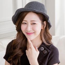 imaco 韓國東大門羊毛保暖針織毛線帽(深灰)