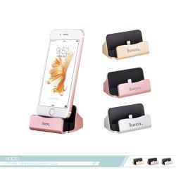 hoco.浩酷 Lightning 充電支架二合一(CPH18) iPhone/iPad適用/ 金屬手機平板支架/ 充電底座
