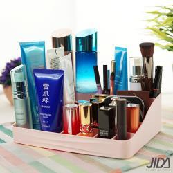 佶之屋  歐風簡約多分格化妝品桌面收納盒-S