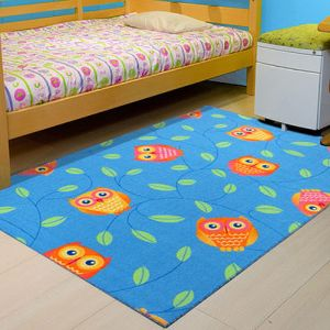 范登伯格       森林童話進口歡樂遊戲毯-100x150cm  天藍