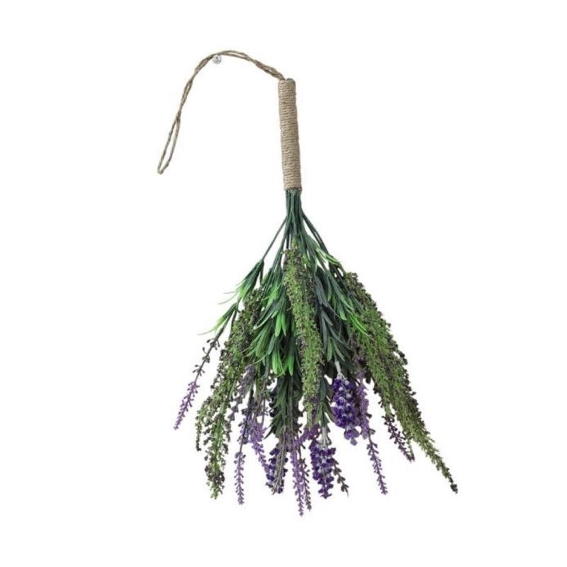 《齊洛瓦鄉村風雜貨》日本雜貨 SPICE 壁掛人造花束 人造薰衣草花束 人造乾燥花束