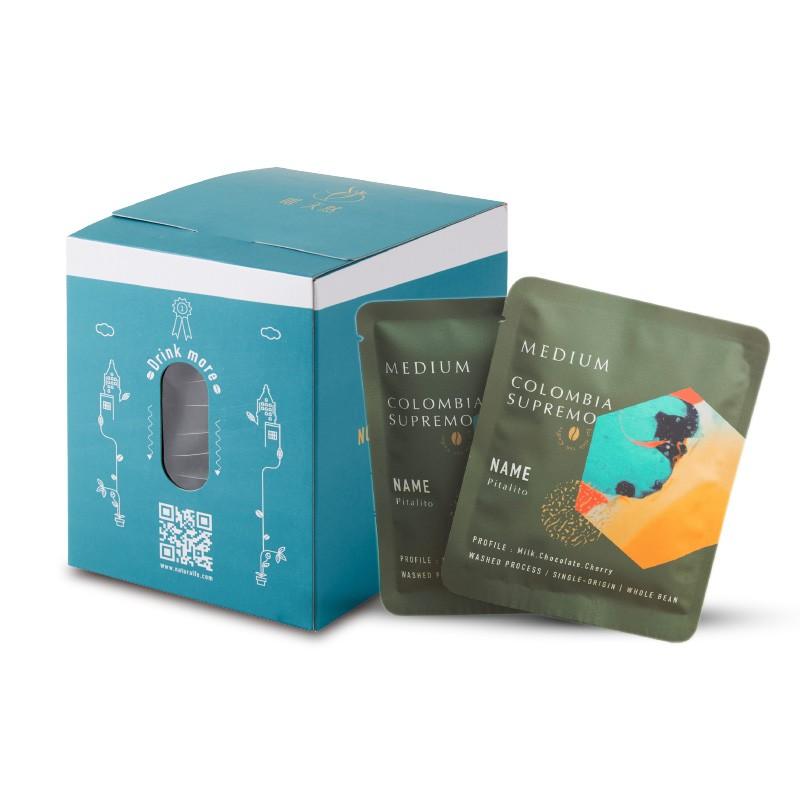 啡天然 頂級哥倫比亞17目濾掛式咖啡(10包/盒)【蝦皮團購】
