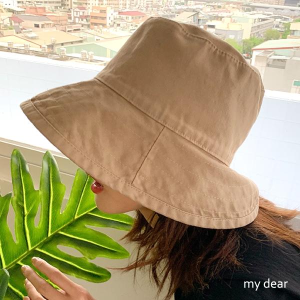 MD韓製-車線帽沿漁夫帽-3色【09010774】