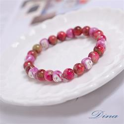 DINA JEWELRY蒂娜珠寶 招財貓系列粉晶 造型手鏈 (TI8705)