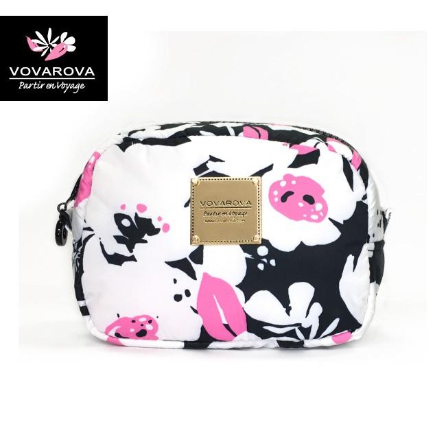 VOVAROVA空氣包-隨身化妝包-粉墨花語