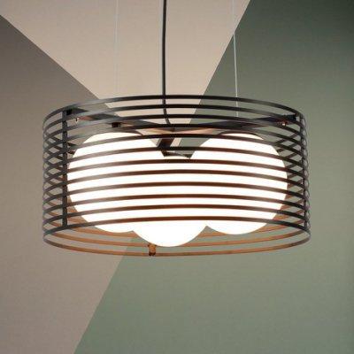 【58街-高雄館】義大利設計師款式「鳥籠吊燈」複刻版。GH-136