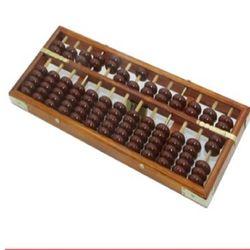 [協貿國際]   13檔仿古老式算盤