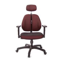 GXG 雙背涼感 電腦椅 (摺疊升降扶手) TW-2995 EA1