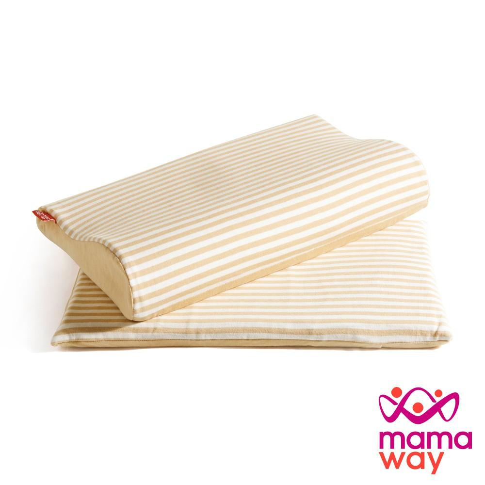 【mamaway媽媽餵】三合一成長枕 午睡枕 趴睡枕 枕頭 防螨枕頭 嬰兒枕頭 寶寶枕頭 嬰兒枕 嬰幼兒