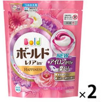 【アウトレット】P&G ボールドジェルボール3D 癒しのプレミアムブロッサムの香りつめかえ用 1セット(36粒:18粒入×2パック)