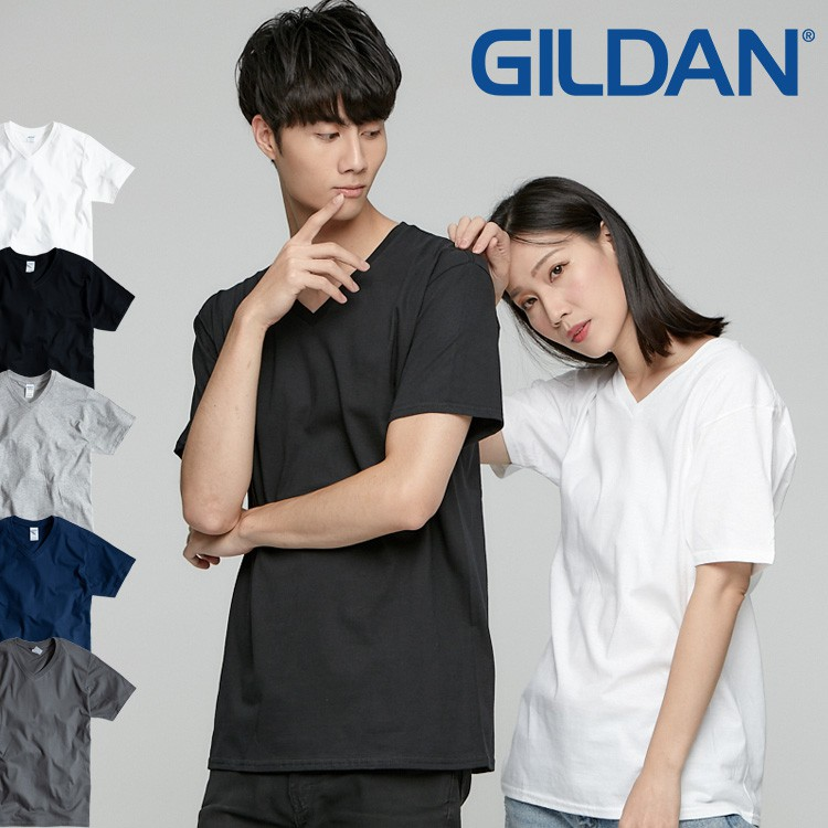 GILDAN 63V00 超經典V領 寬鬆衣服 短袖衣服 衣服 T恤 短T 素T 寬鬆短袖 大碼衣服 V領T 涼感T