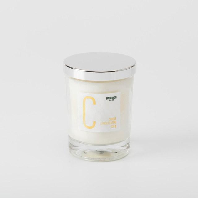 韓國 Dansoon 香氛蠟燭(100g/個)  午茶時光檸檬