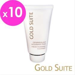 GOLD SUITE酵素潔顏淨白洗面乳10入