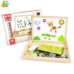 Playful Toys 頑玩具 木製動物拼拼樂 A2083(款式隨機出貨)
