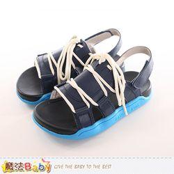 童鞋 時尚潮流休閒涼鞋 魔法Baby~sk0174