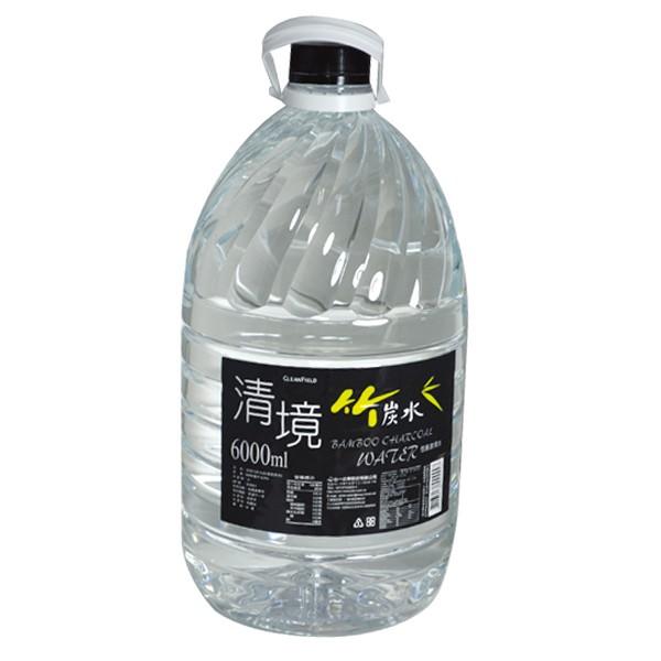心一 清境竹炭水 6000ml【康鄰超市】