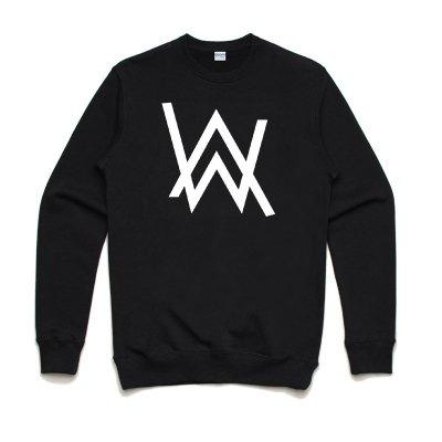 Alan walker Logo 全球百大DJ 3色大學T純棉刷毛電音舞曲派對EDM