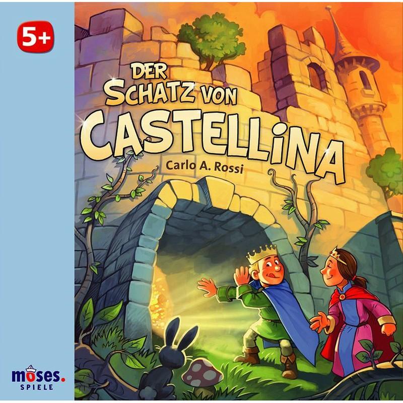 卡斯特利的寶藏 Der Schatz von Castellina 附中文說明書 高雄龐奇桌遊