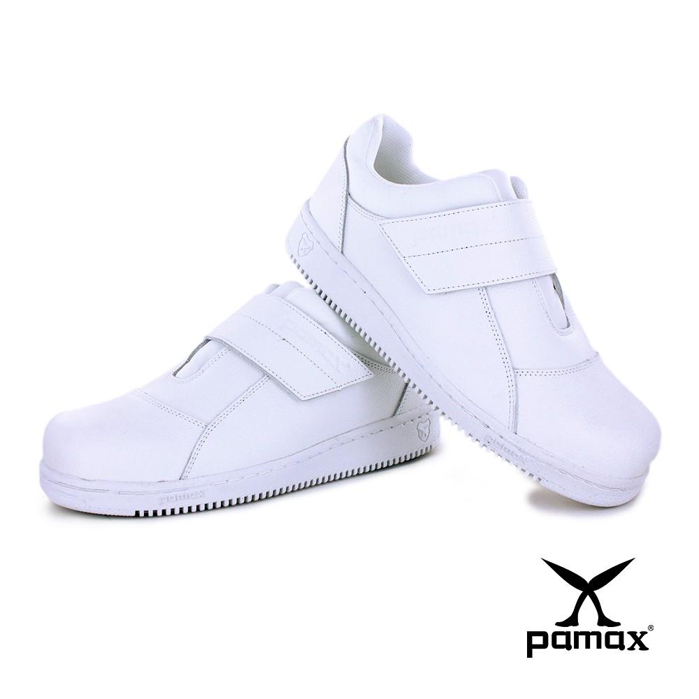 PAMAX 帕瑪斯-超彈力止滑氣墊鞋/PP08509-無鋼頭/男女尺寸3-12-護士鞋-食品業-加工廠