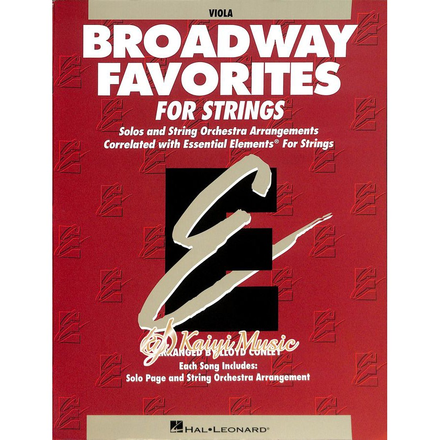 【Kaiyi Music】Broadway favorites for strings viola
