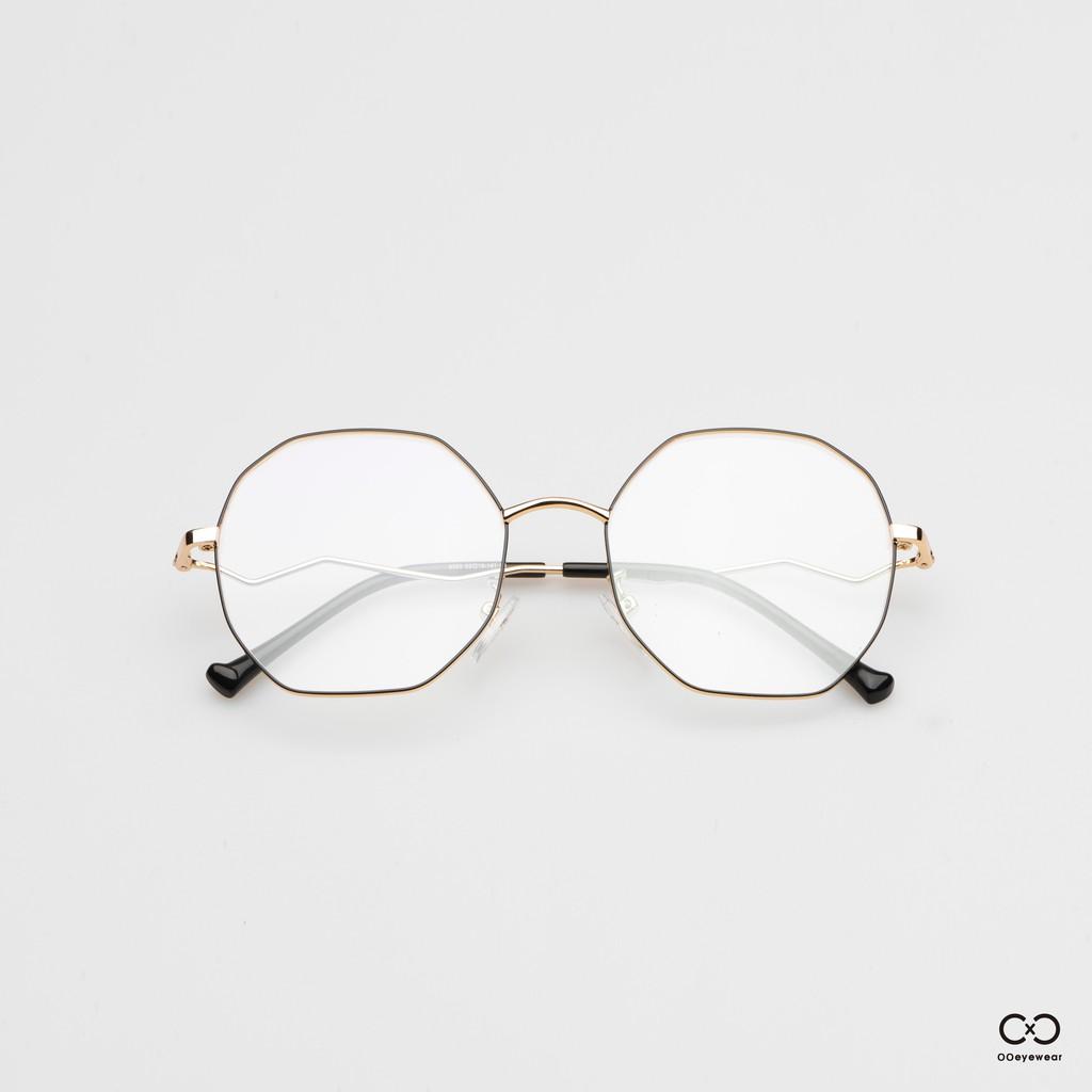 圈圈眼鏡OOEYEWEAR 八角閃電架眼鏡OC0005