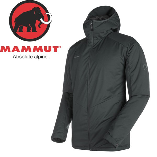 MAMMUT 男 Chamuera SO Thermo Hooded 連帽化纖外套 《灰》/1010-24850