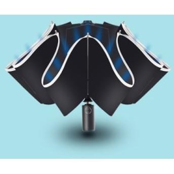 2点送料無料【晴雨兼用】自動開閉!遮光日傘 軽量 紫外線対策 遮熱 遮光 3折り畳み ファッション 日傘 8本骨 折りたたみ日傘 6-18-1