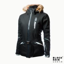 【荷蘭Black Rain】女 walera 5嚴寒戶外多功能外套 BR-3005(7000 黑)