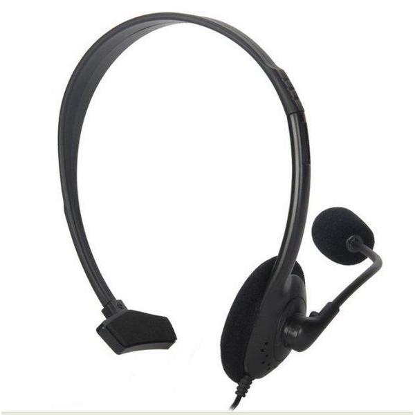 PS4 耳機麥克風組 有線 副廠 遊戲 聊天可用 附線控 耳機麥克風