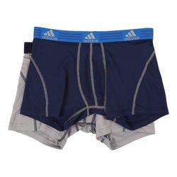 【Adidas】2016男時尚Clima Lite靛藍灰混搭四角內著2件組(預購)
