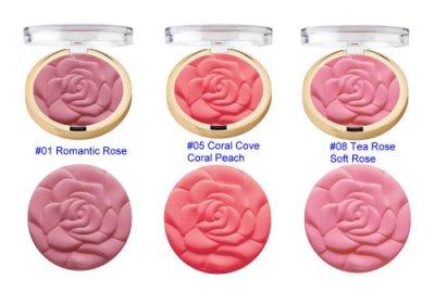 【蘇菲的美國小舖】Milani 玫瑰腮紅 Rose Powder Blush 腮紅盤 3色 特價