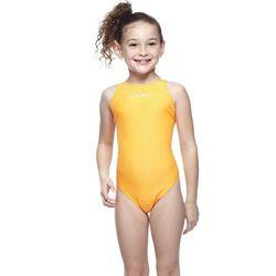 【SAIN SOU】競賽/泳隊女童連身三角泳裝附泳帽A87402-10