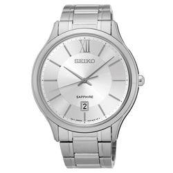 SEIKO 城市簡約美學時尚腕錶-銀/42mm 7N42-0GG0S(SGEH51P1)