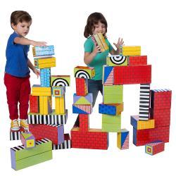 美國ALEX 幼兒紙板大積木