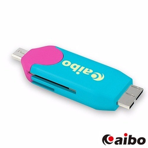 aibo OTG370 Micro USB3.0 OTG迷你讀卡機 台中 誠選良品