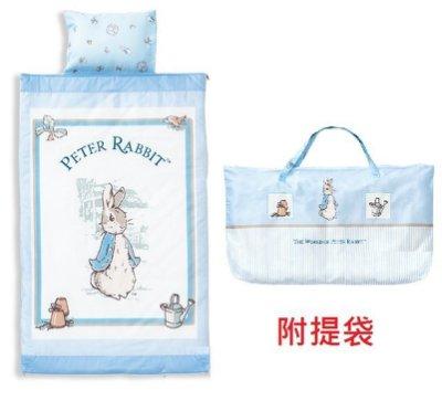 台灣製造奇哥經典比得兔幼教兒童兩件式睡袋經典彼得兔幼教兒童兩件式睡袋Peter Rabbit幼稚園睡袋幼稚園兒童睡袋