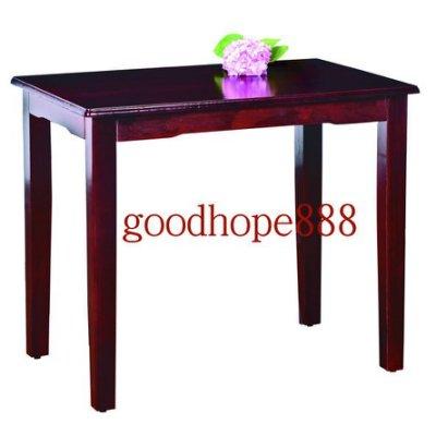 [簡單家居]-松河-古典實木餐桌(2*3尺)-AR-688(DIY)多種規格(餐廳.小吃.飯店.酒場桌椅,居酒桌椅,燒)
