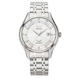 Ogival 瑞士愛其華  典韻品味真鑽機械錶/42mm  3356AJGS