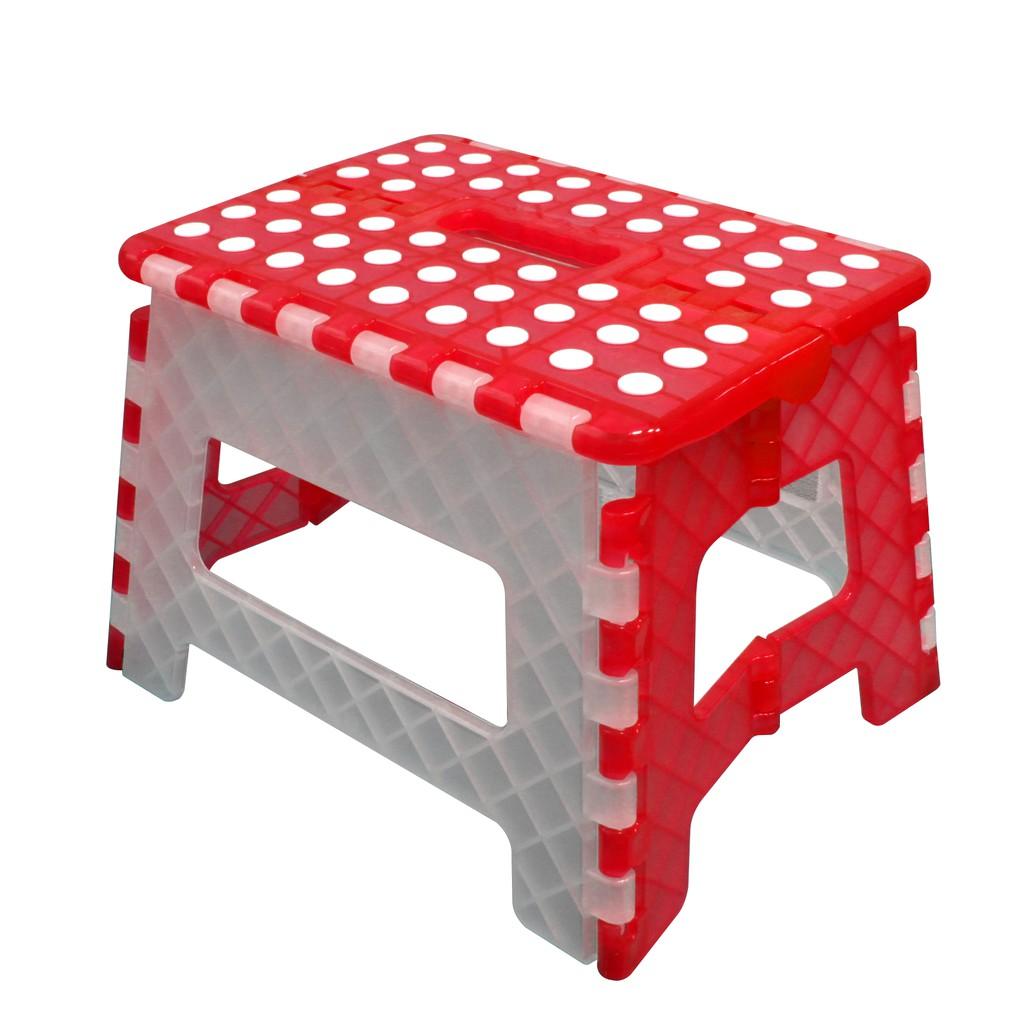 FS-016RW 止滑摺合椅 紅白色 台灣製造